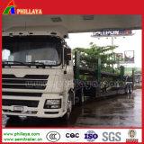 Autotransportwagen van de Aanhangwagen van de Cilinder van twee Assen de Hydraulische
