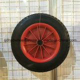 16 roue Plat-Libre de caoutchouc mousse d'unité centrale de solide de pouce 4.80/4.00-8