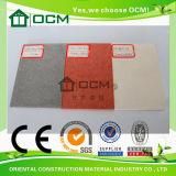 Tarjeta del cemento de la fibra para el revestimiento de la pared exterior