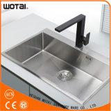 Colpetto di acqua quadrato d'ottone del dispersore di cucina del rubinetto del dispersore