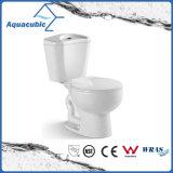 Toletta di ceramica dell'armadio a due pezzi di Siphonic della stanza da bagno (AT3020)