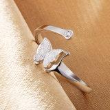 Monili di cristallo dell'argento sterlina dei monili 925 di modo dell'anello (CR0056)
