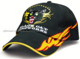 W-Shape Inserir bordado escovado Cotton Twill Racing Cap (TRB026)