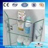 glace Tempered d'étagère de 3-19mm pour la douche, Furinture, décoration