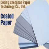 300 / 350-400GSM Coated Duplex Board mit Grau zurück Papier