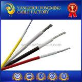 Alambre UL3122 de fibra de vidrio de la trenza de silicona