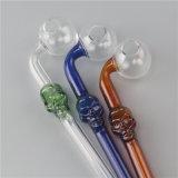 Tubulação de fumo de vidro da tubulação da mão da tubulação do cristal