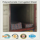 1mm Corrugated Polycarbonate Sheet紫外線Coating