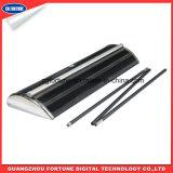 SGS Certificado de alta qualidade de aço base plástica de aço Diplay Roll up Banner Stand