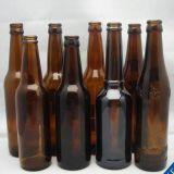 Bottiglia da birra di vetro ambrata all'ingrosso