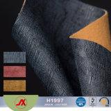 Het Hete Kunstleer van uitstekende kwaliteit van pvc van de Verkoop Elastische Vlotte, het Synthetische Leer van pvc voor Zak, Schoenen, Bank, Stoffering