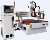 3D 가구 조각품을%s 자동적인 공구 변경 CNC 대패