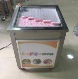 Machine frite par tête simple carrée de crême glacée de roulis