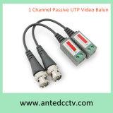 1개의 채널 CCTV 수동적인 영상 BNC 연결관 Cat5 UTP 발룬