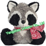 Brinquedo macio acolhedor do luxuoso do Raccoon do animal enchido do presente do CE