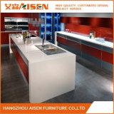 2016の新式の現代赤く光沢度の高いラッカー食器棚の家具