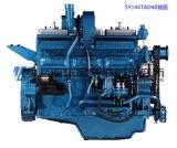 Двигатель дизеля 6 цилиндров. Двигатель дизеля Шанхай Dongfeng для комплекта генератора. Двигатель Sdec. 375kw