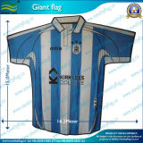 Bandeira de evento do futebol, bandeira enorme, bandeira gigante do t-shirt (J-NF11F06003)