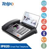Telefone do IP para o uso do negócio com protocolos de rede: TCP/IP, SIP, Sdp, UDP