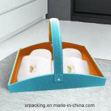 Cuadro de tejido de piel rectángulo para Hotel / Oficina / Habitación