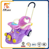 Outdoor Swing Car com Push Bar e Canopy Ce Aprovado da China Wholesale