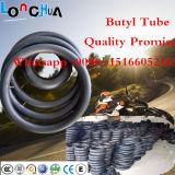 Pneu butílico natural da câmara de ar interna da motocicleta do competidor com PONTO ISO9001 (2.75-19)