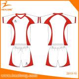 Camisas de encargo del balompié de los jerseys del club del fútbol de la sublimación de Healong