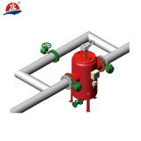 Filtro industrial de la limpieza de uno mismo de la serie del agua Jka700 de la calidad de Exellent