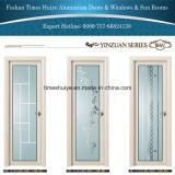 Puerta interior de aluminio abatible Puerta Puerta Puerta de baño WC