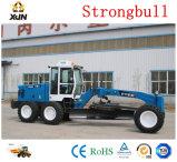 GR180 XJN Strongbull Marke 180PS-Motor-Grader mit Räumschild vorne und hinten Ripper