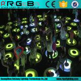 Lumière interactive dynamique ronde de Dance Floor d'étape de DEL