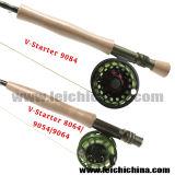 Dispositivo d'avviamento superiore di pesca Rod della mosca del carbonio della SK