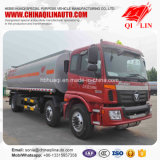 Foton 6X2 포좌 판매를 위한 유조 트럭 21800 리터 연료