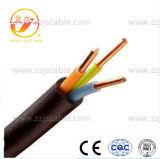 Câble de commande isolé par PVC multi de faisceau