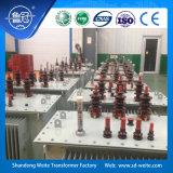 Normes d'IEC/ANSI, transformateur triphasé de la distribution 6kV/6.3kv pour avec des options d'OLTC