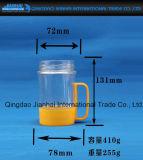 Getränkeglasflasche mit Griff und Qualität