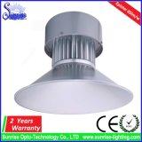 50W 높은 산업 이음쇠 LED 높은 만 전등 설비