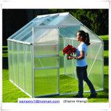 きのこのテントの庭の温室