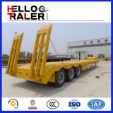 Tri-Árbol de la maquinaria de construcción acoplado inferior del transporte de 60 toneladas