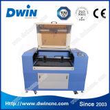 Precio de cuero de acrílico de la cortadora del grabado del laser de madera del CO2 de escritorio barato
