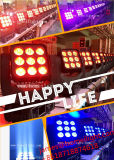 2017 Licht van de Populairste LEIDENE 9*10W Matrijs van de Schok het Hoofd in Huwelijk/Partij/Disco