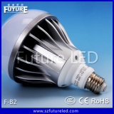 Luz de bulbo de fundición a presión a troquel aprobada del aluminio E27 B22 E14 LED del futuro F-B2 del CE