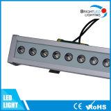 arruela da parede do diodo emissor de luz RGB de 12W IP65 DMX512 com garantia 5-Year