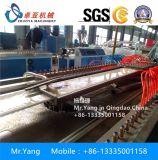 chaîne de production de panneau de mur de 600mm WPC/machine d'extrudeuse