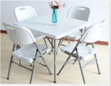4 Chairs를 가진 옥외 Leisure 34X34inch Plastic Folding Square Table