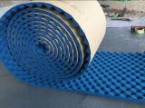Gummischaumkunststoff-Dämmplatte-Aluminiumfolie-Oberflächen-anhaftendes Gesichts-Isolierungs-Rohr