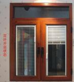 Bester Preis-Aluminiumfenster mit Blendenverschluß/Luftschlitz und ausgeglichenem Glas