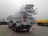 Camion de mélangeur concret de marque de Sinotruk/camion de mélangeur de camion/colle de mélangeur
