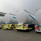 Il rimorchio asciutto del camion della polvere del cemento con gli assi del compressore d'aria 3 ammassa rimorchio del silo dell'alimentazione semi
