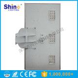 Luz de rua solar Integrated do preço 60W 80W de brilho elevado baixa